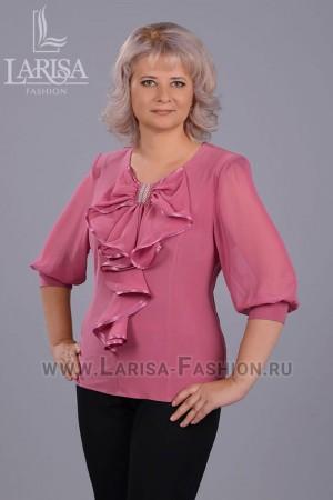 Блузка Ольга (однотонная)