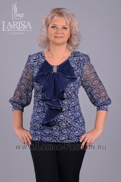 Блузка Ольга (цветная)