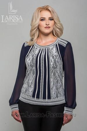 Блузка Джоди комбинированная