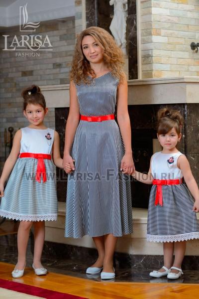 Family Look: платье Морячка
