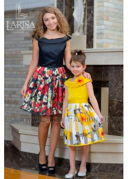 Family Look: платье Солнышко