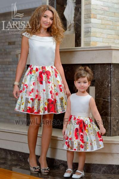 Family Look: платье Солнышко + Лепесток