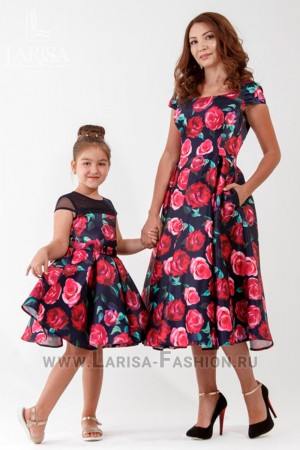 Family Look: платье Барби