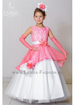 Детское платье Аурика с цветком