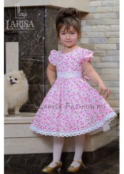 Детское платье Полянка