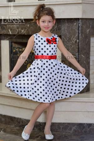 Детское платье Горошек