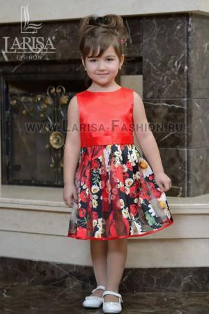 Детское платье Лепесток