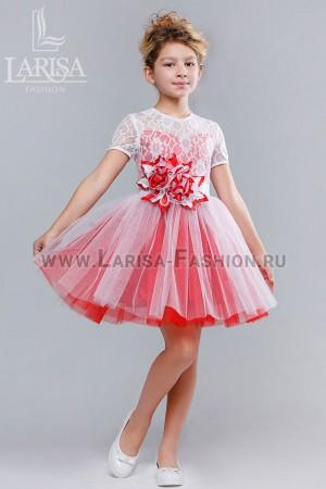 Детское платье Василек