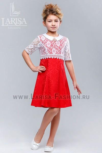 Детское платье Кокетка жаккард