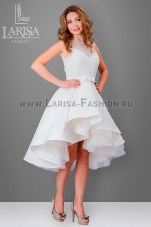 Молодежное платье Бэлла с сеткой