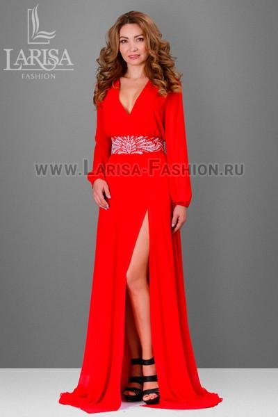 Молодежное платье Лейла с рукавом