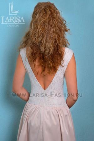 Молодежное платье Крем-брюле