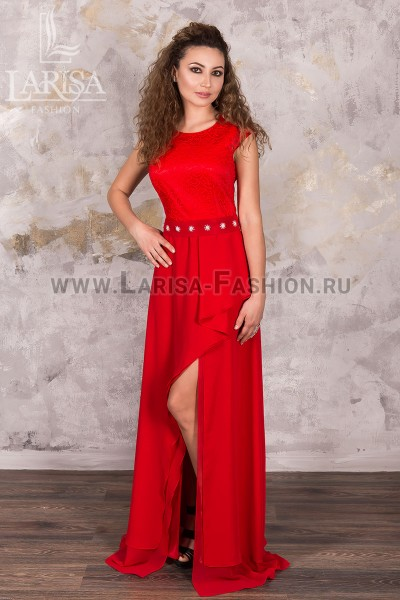 Молодежное платье Магнолия креп-шифон