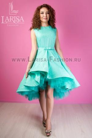 Молодежное платье Бэлла из облегченного жаккарда