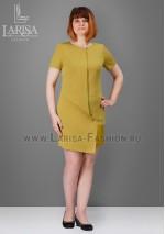 Платье Алена фисташкового цвета