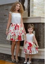 Family Look платье  Солнышко + Лепесток