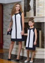 Family Look платье  День-ночь