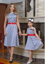Family Look платье Горошек